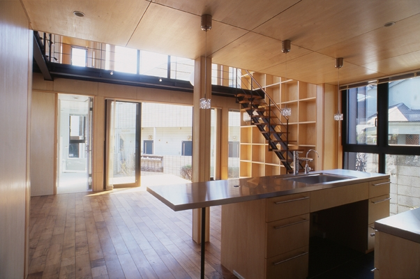 野方の家の部屋 LDK-1(撮影:淺川敏)