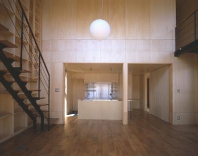 野方の家 (LDK-2(撮影:淺川敏))
