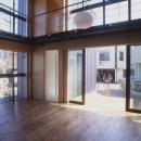 野方の家の写真 テラス(撮影:淺川敏)