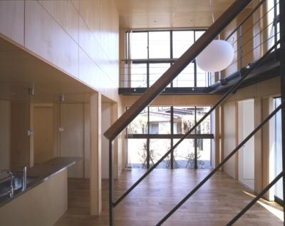 野方の家 (LDK-3(撮影:淺川敏))