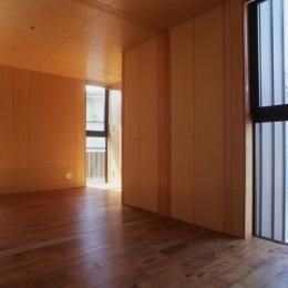 野方の家 (ベッドルーム(撮影:淺川敏))