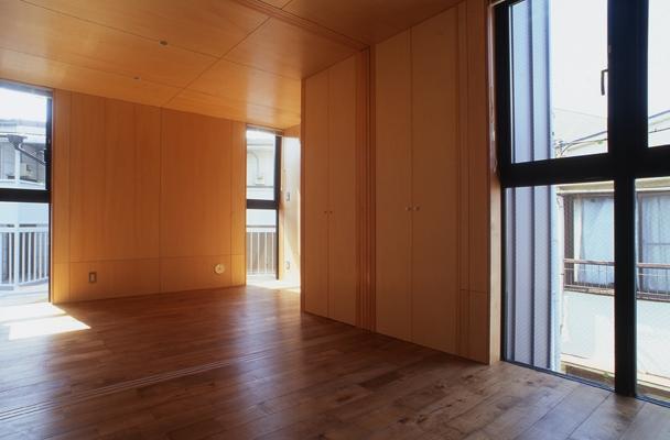野方の家の部屋 ベッドルーム(撮影:淺川敏)
