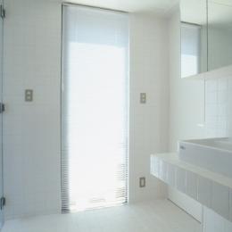 野方の家 (浴室(撮影:淺川敏))