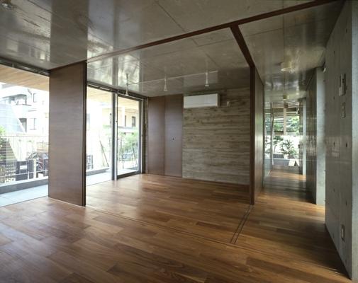 代々木西原の家 (1階(撮影:淺川敏))