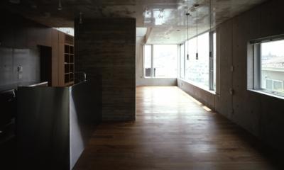 代々木西原の家 (ダイニングキッチン(撮影:淺川敏))