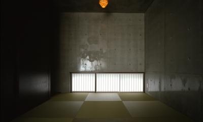 代々木西原の家 (和室(撮影:淺川敏))