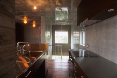 キッチン(撮影:淺川敏) (代々木西原の家)