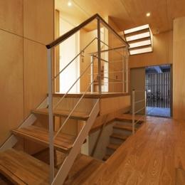 目黒南の家 (階段(撮影:淺川敏))
