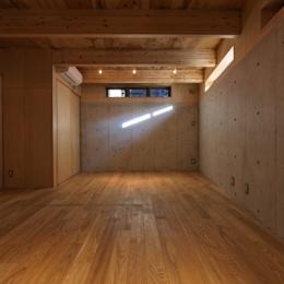 目黒南の家 (地下(撮影:淺川敏))