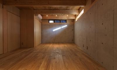 地下(撮影:淺川敏)|目黒南の家
