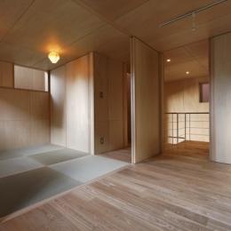 目黒南の家 (和室(撮影:淺川敏))