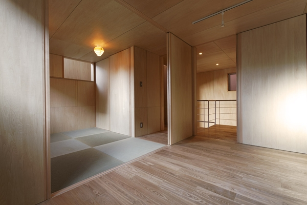 目黒南の家の部屋 和室(撮影:淺川敏)