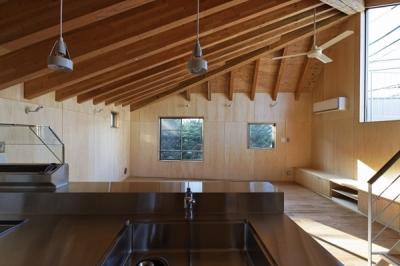 キッチン1(撮影:淺川敏) (目黒南の家)