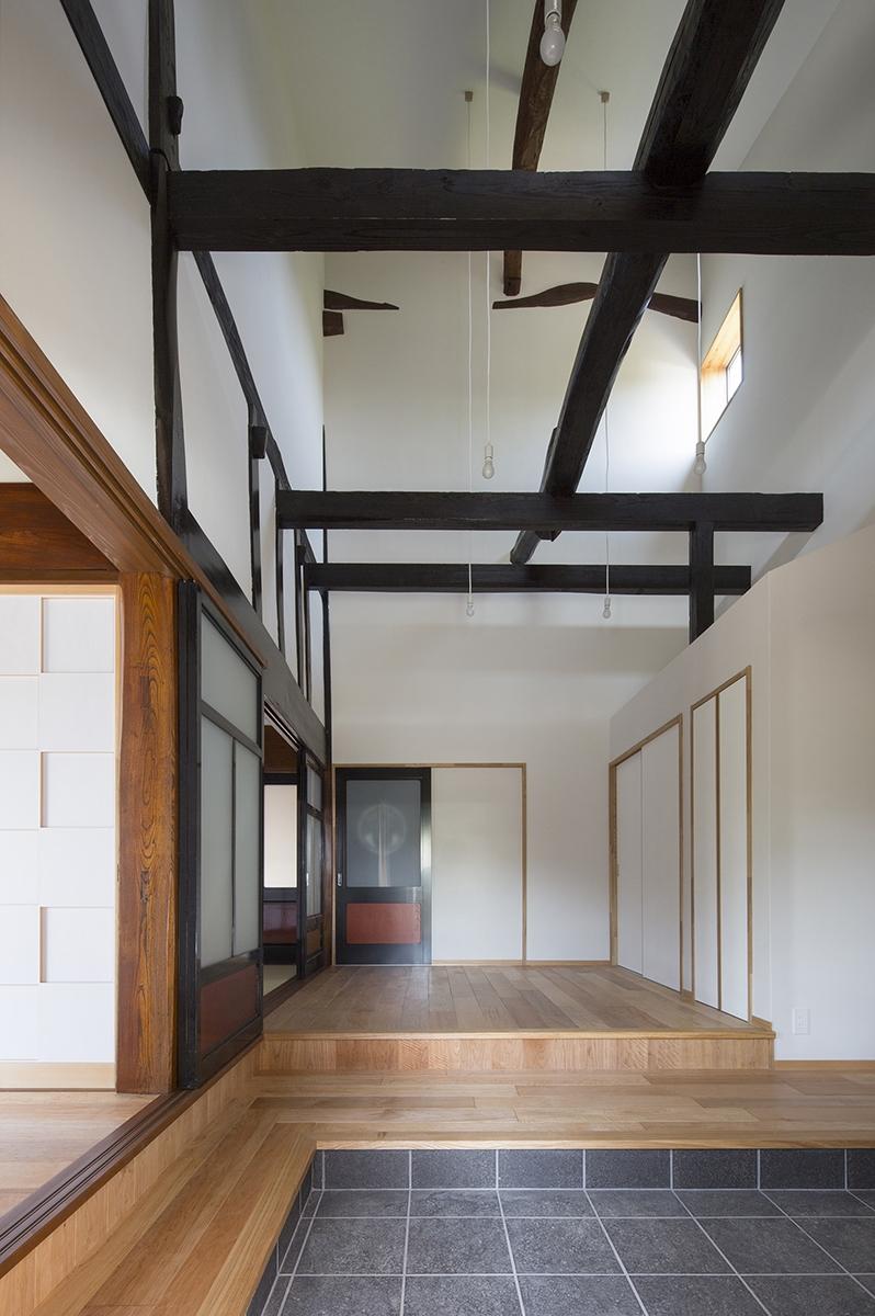 魚津の家 (玄関)
