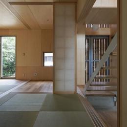 秦野の家 (1階和室-1(撮影:淺川敏))