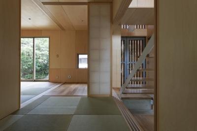 1階和室-1(撮影:淺川敏) (秦野の家)