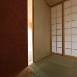 秦野の家 (1階和室-2(撮影:淺川敏))