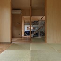 秦野の家 (1階和室-3(撮影:淺川敏))