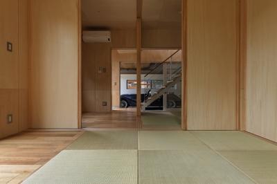 1階和室-3(撮影:淺川敏) (秦野の家)