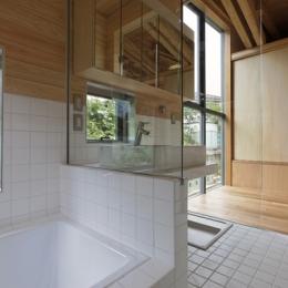 秦野の家 (浴室(撮影:淺川敏))
