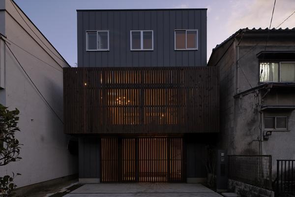 五反野の家の写真 外観2(撮影:淺川敏)