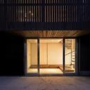 五反野の家の写真 外観-玄関(撮影:淺川敏)