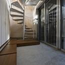 五反野の家の写真 玄関(撮影:淺川敏)