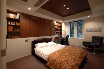 代官山T邸 (寝室1)