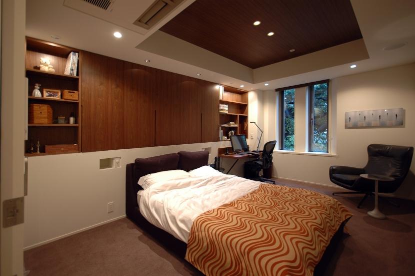 代官山T邸の部屋 寝室1