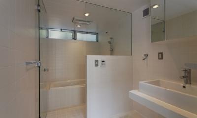 五反野の家 (浴室(撮影:淺川敏))