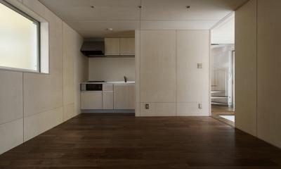 五反野の家 (1階(撮影:淺川敏))