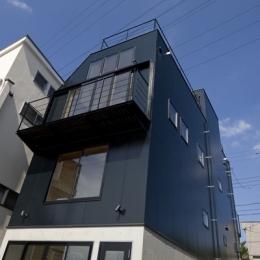 日吉の家 (外観2(撮影:淺川敏))