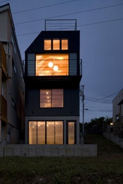 日吉の家 (外観3(撮影:淺川敏))