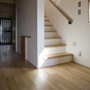 2階に続く階段(撮影:淺川敏)