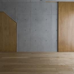 日吉の家 (地下(撮影:淺川敏))