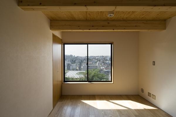 日吉の家 (ベッドルーム(撮影:淺川敏))
