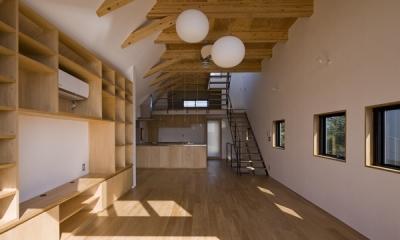 日吉の家 (LDK-2(撮影:淺川敏))