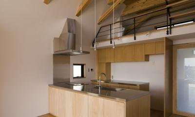日吉の家 (キッチン(撮影:淺川敏))