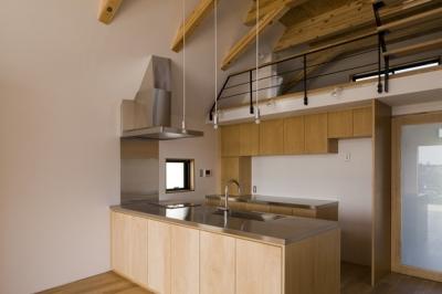 キッチン(撮影:淺川敏) (日吉の家)