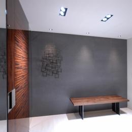 代官山T邸 (玄関ホール3)