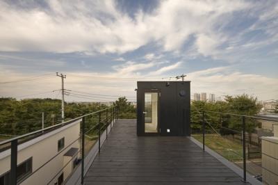 屋上テラス2(撮影:淺川敏) (日吉の家)