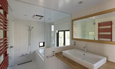浴室(撮影:淺川敏)|日吉の家