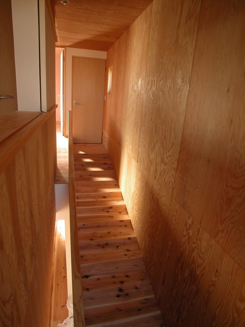 スロープ階段の家 (スロープ階段)
