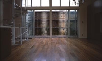 五反野の家 (LDK-2(撮影:淺川敏))