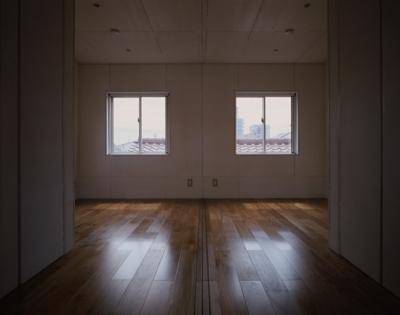 ベッドルーム(撮影:淺川敏) (五反野の家)