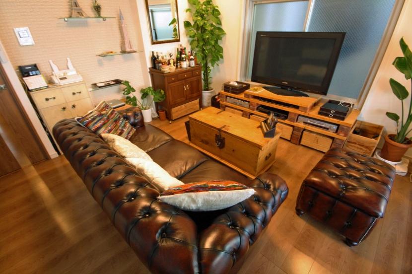 リフォーム・リノベーション会社:株式会社リノステージ「渋谷区 Y邸 ミッドセンチュリーな空間」