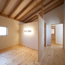 ミラクルハウス・MHS (主寝室)