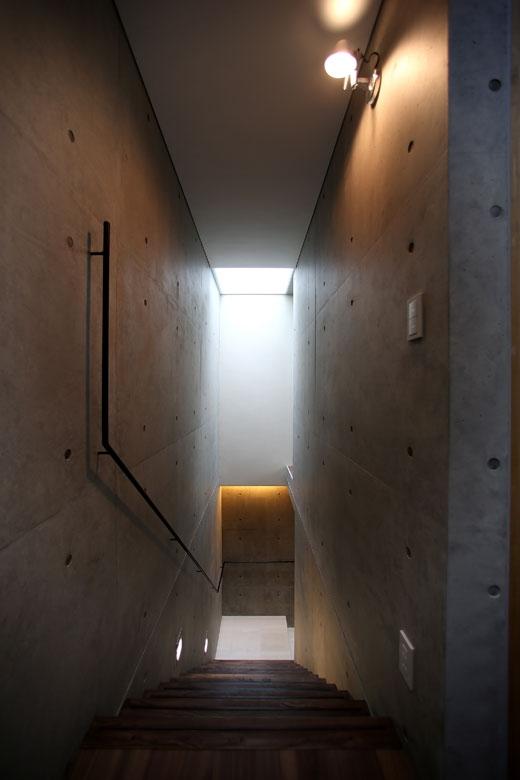 内記の家 其の三の部屋 階段