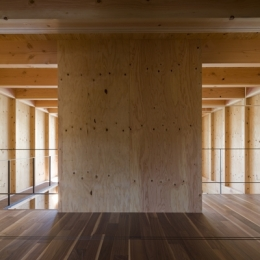 和賀材木座の家 — 空(くう)の箱 — (ギャラリー(撮影:淺川敏))