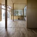 秋谷の家の写真 広間から眺める(撮影:淺川敏)